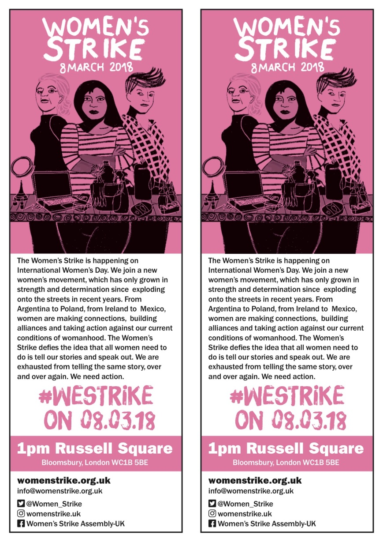 Women's Strike Leaflet Jan 2018