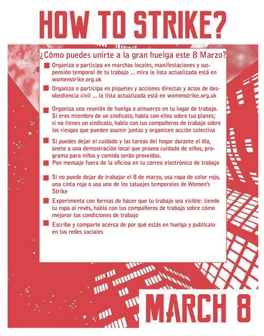 how to strike_spanish