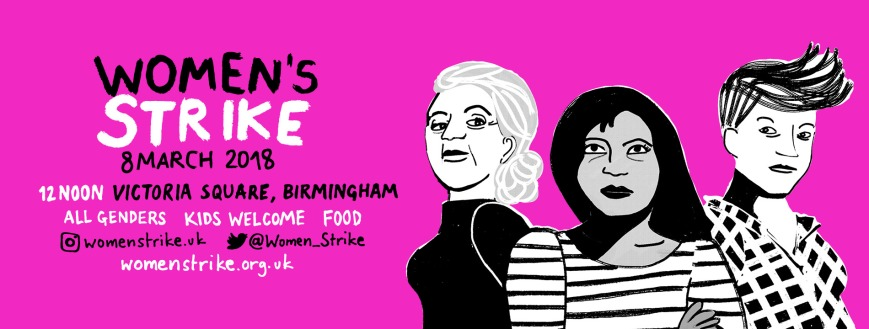 Women's Strike Bham FB header
