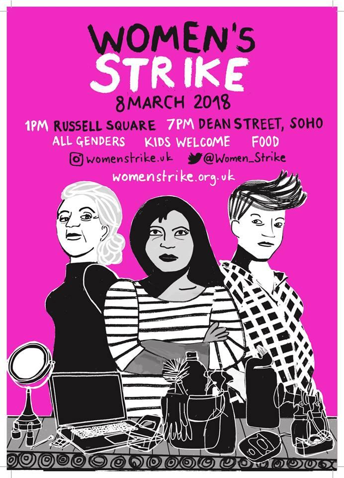 Women's Strike Pink Poster